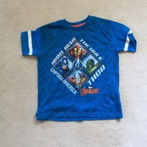 Avengers Tee shirt size 7
